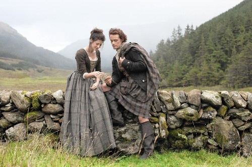 'Outlander' skips through time to a Highlands' high point