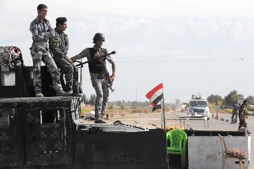 An Iraqi Sunni town celebrates rout of Islamic State
