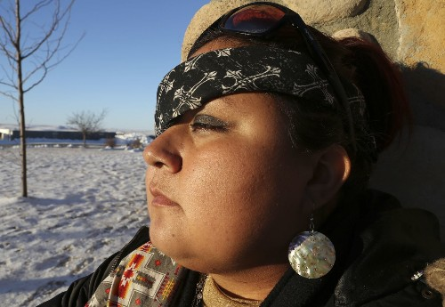 Wounded on the front line at Standing Rock, a protester refuses to give up her fight