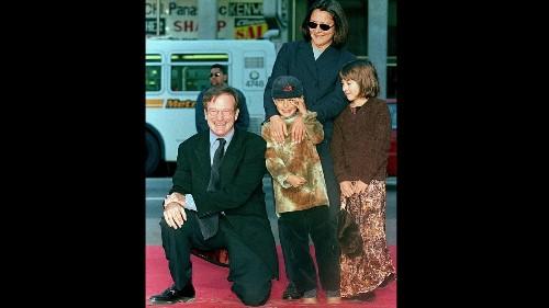 Robin Williams' children, Zack, Zelda and Cody Williams, mourn their dad