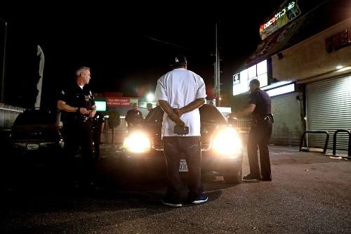 On patrol with elite LAPD unit accused of targeting black drivers