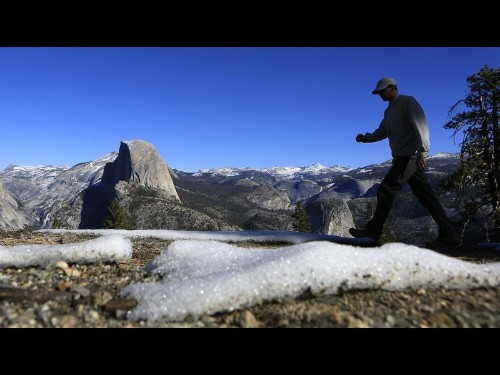 Scientists see shrinking California snowpack as a harbinger