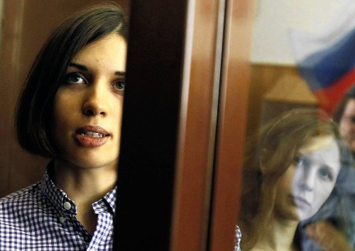 Pussy Riot leader lost in Russia's prison system, husband says