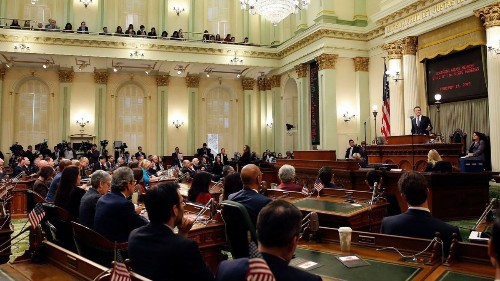 Big business' political muscle in Sacramento is tested by new Democratic mega-majority
