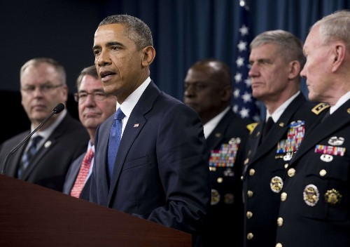 Why Obama is sticking with his Islamic State strategy - Los Angeles Times