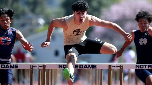 St. Francis track and field's Molina runs, jumps way to repeat performance