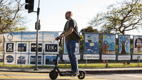 The double whammy of Bird scooters: They're a blight, and they're dangerous to pedestrians - Los Angeles Times