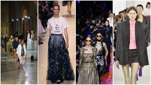 Paris Fashion Week meets Studio 54 as disco-inspired fashions boogie down the runways - Los Angeles Times