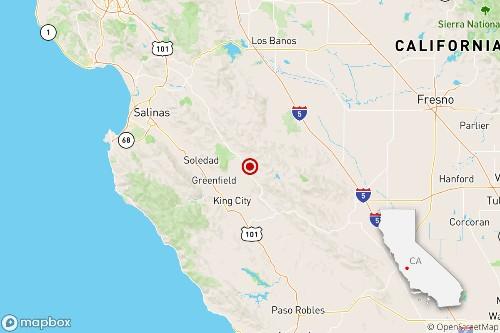 Earthquake: 3.3 quake shakes near Greenfield, Calif.