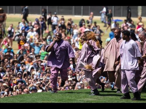 Ye of great faith: Kanye West brings gospel and pop-art dazzle to Coachella