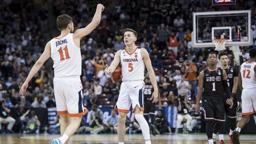 NCAA tournament: Virginia's sequel to first-round horror show has happier ending this year