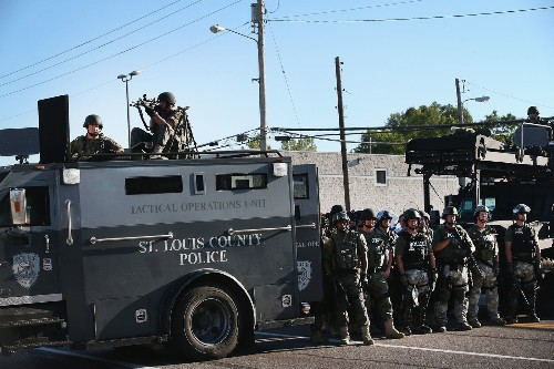Seattle police chief during WTO unrest appalled by Ferguson violence