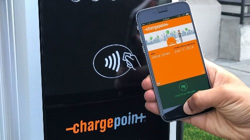 You can now 'tap to charge' your electric car with a phone or watch