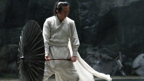 Review: Zhang Yimou's 'Shadow' is always beautiful, often obscure
