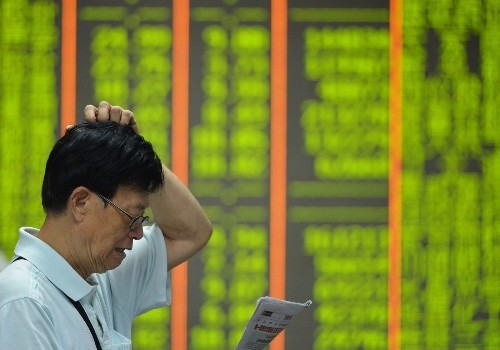 China's market meltdown triggers global sell-off; Shanghai exchange falls about 8.5%