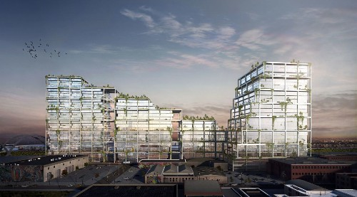 Huge Arts District development along L.A. River races for approval; here's an early look