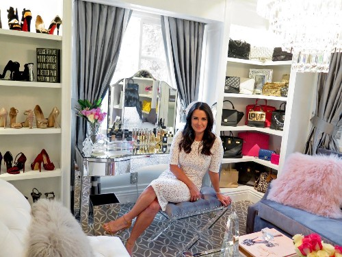 Kyle Richards converts home gym into dressing room