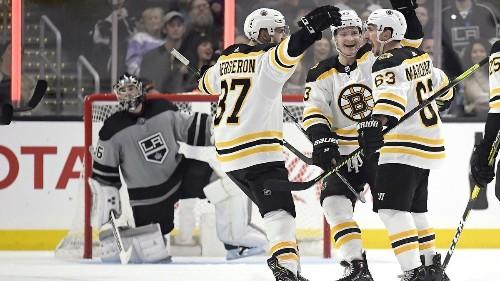 Takeaways from Kings' 4-2 loss to Boston Bruins