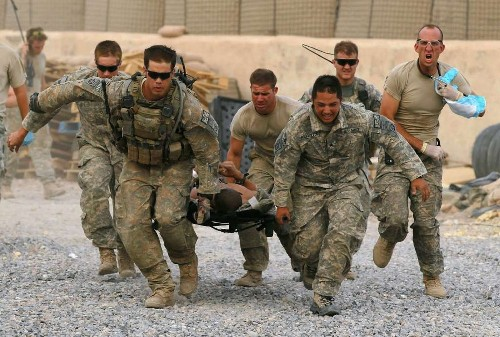 Healing warriors by making a census of combat wounds' microbiota