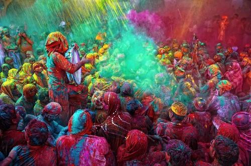 The Holi festival is a vivid, joyful Hindu celebration of spring