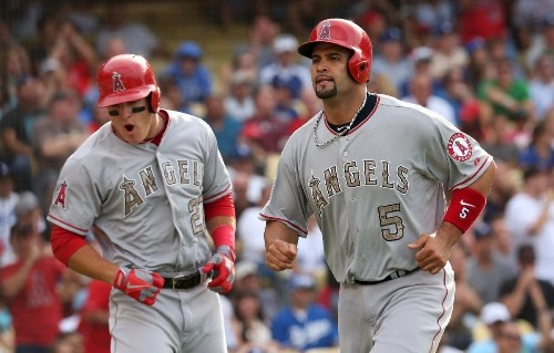 Albert Pujols says Mike Trout isn't in his league yet as a player