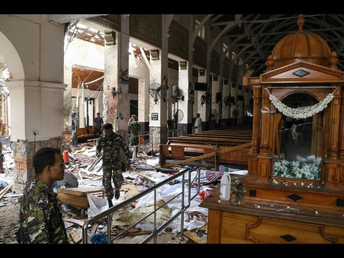 Over 200 killed in Easter Sunday explosions in Sri Lanka; Americans among the dead