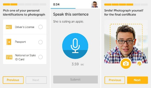 Duolingo offers language-certification tests via mobile devices