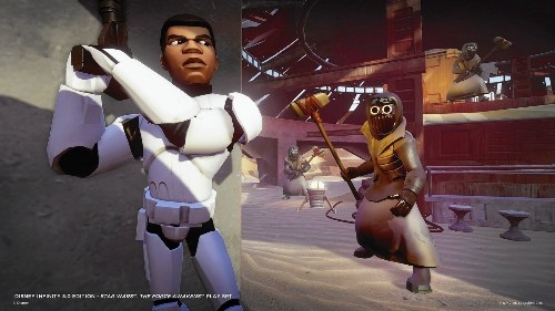 In 'Disney Infinity' video game, the 'Star Wars' universe can be upended, if you like