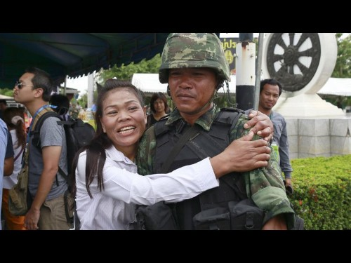 Thailand's citizens react stoically as military launches coup