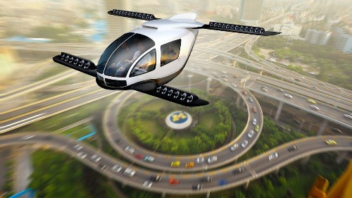 How flying cars could help in the fight against climate change
