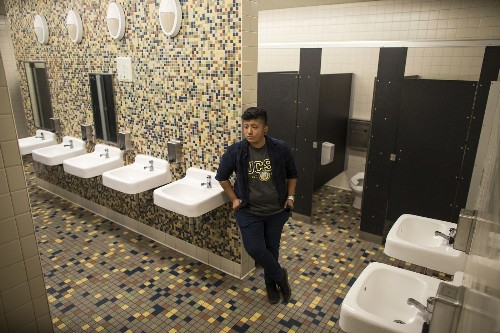 This school is opening the first gender-neutral bathroom in Los Angeles Unified - Los Angeles Times