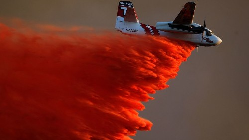 Firefighting aircraft 'increasingly ineffective' amid worsening wildfires