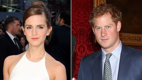 Emma Watson not dating Prince Harry, but could be a princess without him