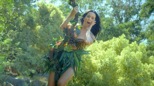 Watch Katy Perry's jungle-themed video for 'Roar'