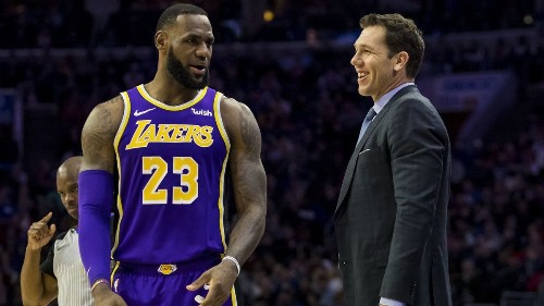 Jeanie Buss denies LeBron James' power play by keeping Luke Walton as Lakers coach