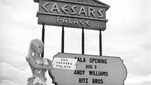 As Caesars Palace celebrates 50 years in Vegas, it looks to its past, present and future - Los Angeles Times