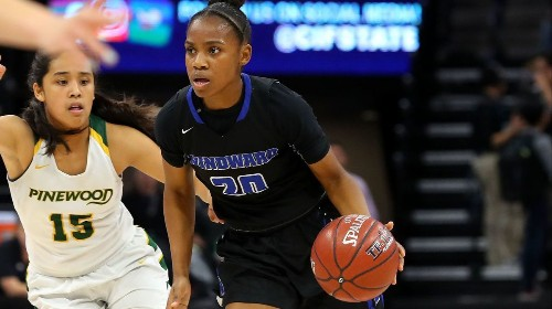 Charisma Osborne repeats (again) as The Times' girls' basketball player of the year