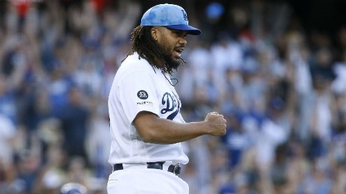 Dodgers' Kenley Jansen wanted the ball and came through against Cubs
