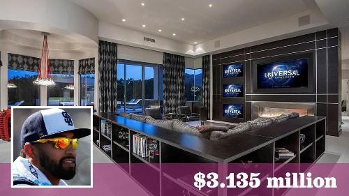 Padres' Matt Kemp sells his desert home with 20 TVs for $3.135 million