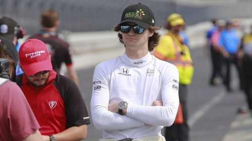 Rookie Colton Herta earning adulation from his Indy 500 peers