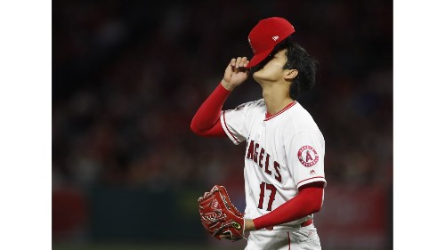 A phenom, yet still a rookie, Shohei Ohtani's third start is charmless - Los Angeles Times