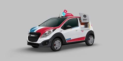 Cold pizza no more: Domino's reengineers the delivery car