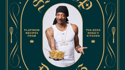 Snoop Dogg's first cookbook is coming out in October. Mac and cheese, gin and juice, even lobster thermidor. Sorry, no cannabis.