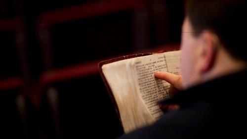 Read the Bible as if it were a diary of humanity's teenage years