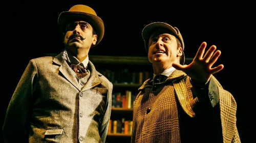 Review: In 'Mysterious Circumstances' at the Geffen, the case of the Sherlock superfan