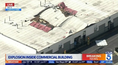 Three people injured in Canoga Park explosion