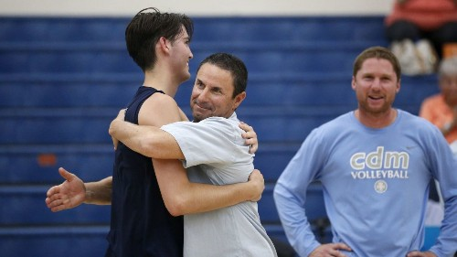 Steve Conti resigns as CdM boys' volleyball coach to spend more time with family - Los Angeles Times
