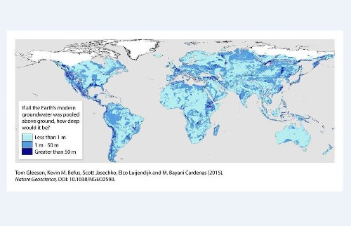 There are 6 quintillion gallons of water hiding in the Earth's crust