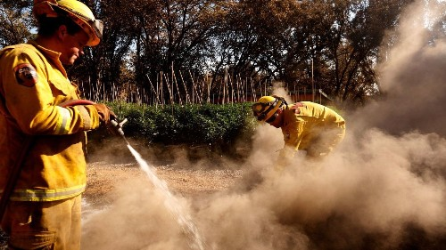 Wildfires devastate California pot farmers, who must rebuild without banks or insurance