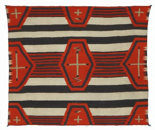 Pueblo, Navajo, Hispanic weaving traditions flourish in 'Treasured Textiles' at Fowler